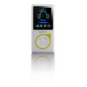 Lenco Xemio-668 MP3 player 8 GB Green, Lime, White