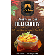 deSIAM Red Curry Kit 260 g