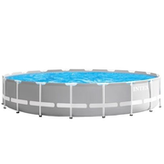Intex 26732GN above ground pool Framed pool Round 24311 L Grey