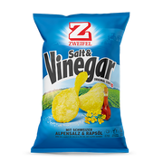 Zweifel Original Chips Salt & Vinegar 170 g Salt, Vinegar