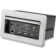 StarTech.com Conference Table Connectivity Box for A/V - 4K