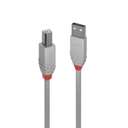 Lindy 36684 USB cable 3 m USB 2.0 USB A USB B Grey