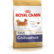 Royal Canin Chihuahua Adult, Adult, 1.5 kg, Chihuahua, X-Small (< 4kg), Vitamin A,Vitamin B1,Vitamin B12,Vitamin B2,Vitamin B3,Vitamin B5,Vitamin B6,Vitamin B9 (folic..., Dental care