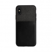 Xqisit Card Case, Cover, Apple, Iphone X, Iphone XS, 14,7 cm (5.8 Zoll), Schwarz