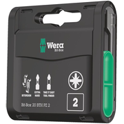 Wera 20 BTH PZ 2 screwdriver bit 20 pc(s)