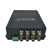 LevelOne 8-Channel BNC over Fiber Optic Extender Kit, 20km