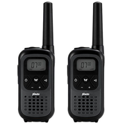 Alecto FR-200 two-way radio 16 channels Black