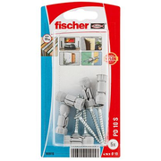 Fischer 90915 screw anchor / wall plug 5 pc(s) Screw & anchor kit 2.8 cm