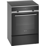 Siemens iQ500 HL9S5A340 cooker Freestanding cooker Zone induction hob Black A