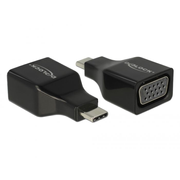 DeLOCK 63933 USB graphics adapter 1920 x 1080 pixels Black