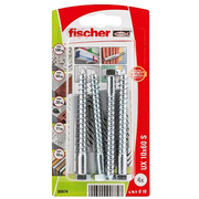 Fischer 90874 screw anchor / wall plug 10 pc(s) Screw & anchor kit 7.5 cm