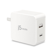 j5create JUP2230 mobile device charger White Indoor