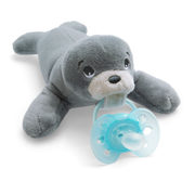 Philips AVENT SCF348/14 baby pacifier Classic baby pacifier Round Silicone Blue