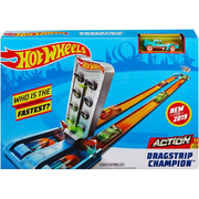 Hot Wheels Dragstrip Champion toy vehicle track Plastic
