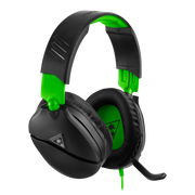 Turtle Beach Recon 70x Gaming Headset for Xbox One, Xbox Series X, PS5, PS4, Switch, PC - Black & Green