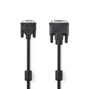 Nedis CCGP32100BK20 DVI cable Black