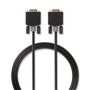 Nedis CCBW59000AT20 VGA cable Anthracite