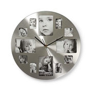 Nedis CLWA003PH40 wall clock Silver