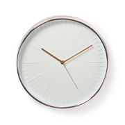 Nedis CLWA013PC30RE wall clock Rose gold