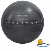 Tunturi Anti Burst exercise ball 65 cm Black Full-size
