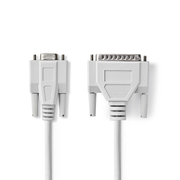 Nedis CCGP52135IV20 signal cable Ivory