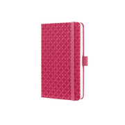 Sigel JN104 writing notebook A6 174 sheets Pink