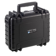 B&W Type 1000 camera drone case Briefcase Black Polypropylene (PP)