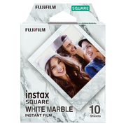 Fujifilm SQUARE 'White Marble' instant picture film 10 pc(s) 76.2 x 50.8 mm