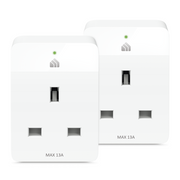 Kasa Smart Wi-Fi Plug Slim (2-Pack)