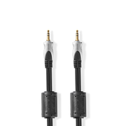Nedis CAGC22000AT15 audio cable 1.5 m 3.5mm Anthracite