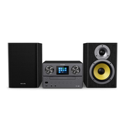 Philips TAM8905 Music System with Internet Radio, DAB+, Bluetooth, CD, USB, and Spotify Connect