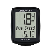 Sigma BC 7.16 Wireless bicycle computer Black