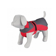 TRIXIE 30273 S Green, Red Polyester Dog Raincoat