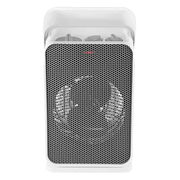Unold 86450 electric space heater Indoor Grey, White 2000 W Fan electric space heater