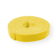 Value 25.99.5252 cable tie Velcro strap cable tie Yellow 5 pc(s)