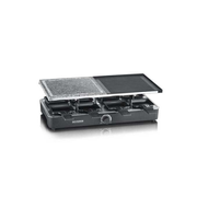 Severin RG2371 raclette grill 8 person(s) 1400 W Stainless steel