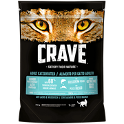 Crave 392293 cats dry food 750 g Adult Salmon