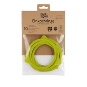 Fair Zone Canning Rubber Rings Green 10 pc(s)