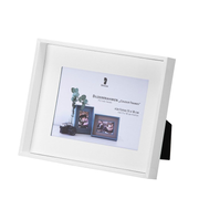 Rössler S.O.H.O. White Single picture frame