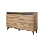 Cama chest of drawers NORD wotan oak/antracite