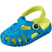 Beco 4013368152362 shoes Unisex Blue, Yellow Sandals
