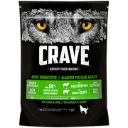 Crave 392243 dogs dry food 1 kg Adult Beef, Lamb