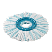 Leifheit 52104 mop accessory Mop head Turquoise, White