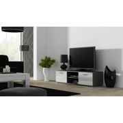 Cama TV stand SOHO 140 grey/white gloss