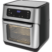 Bomann PC-FR 1200 H Single 11 L Stand-alone 1500 W Hot air fryer Black, Stainless steel