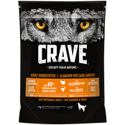 Crave 392245 dogs dry food 1 kg Adult Chicken, Turkey