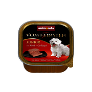 animonda Vom Feinsten with beef + poultry Beef, Poultry Junior 150 g