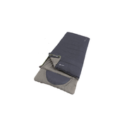 Outwell Contour Lux Adult Rectangular sleeping bag Microfibre, Polyester Blue