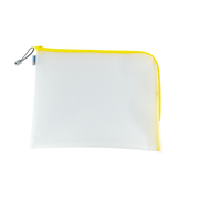 HERMA 20017 pencil case Hard pencil case EVA (Ethylene Vinyl Acetate) Transparent, Yellow