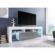 Cama TV stand TORO 138 white/grey gloss